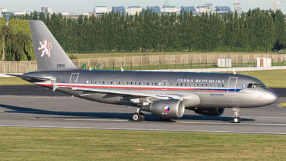 2801 - Czech - Air Force Airbus A319 CJ