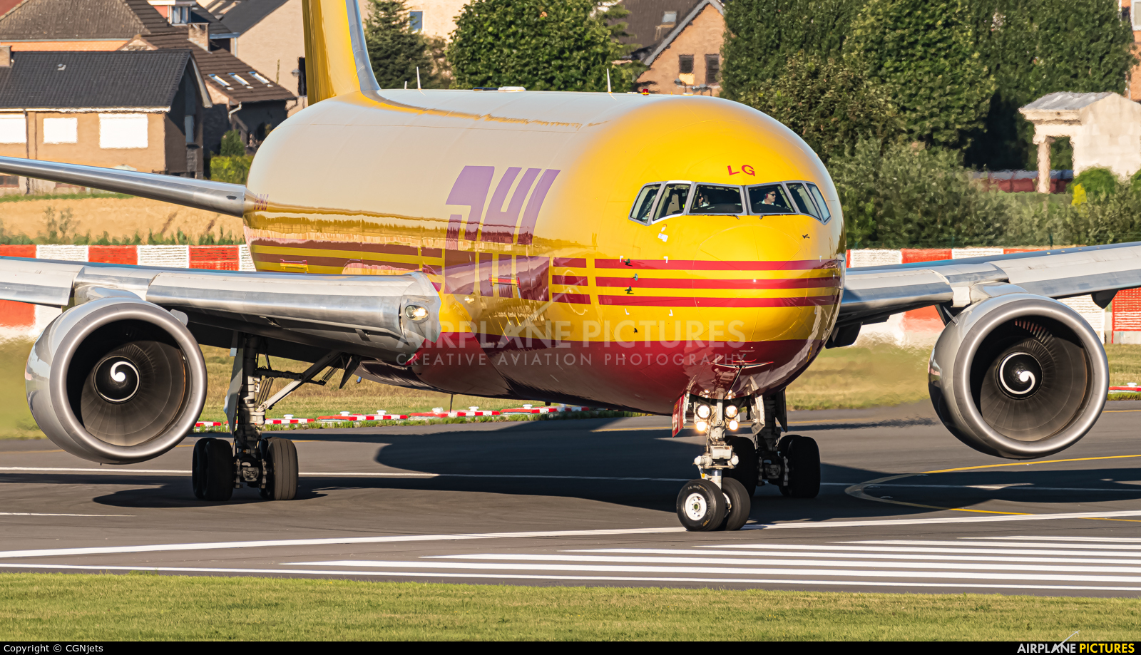 DHL Cargo G-DHLG aircraft at Brussels - Zaventem