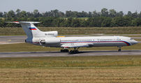 Russian Air Force Tu-154M at Vienna title=
