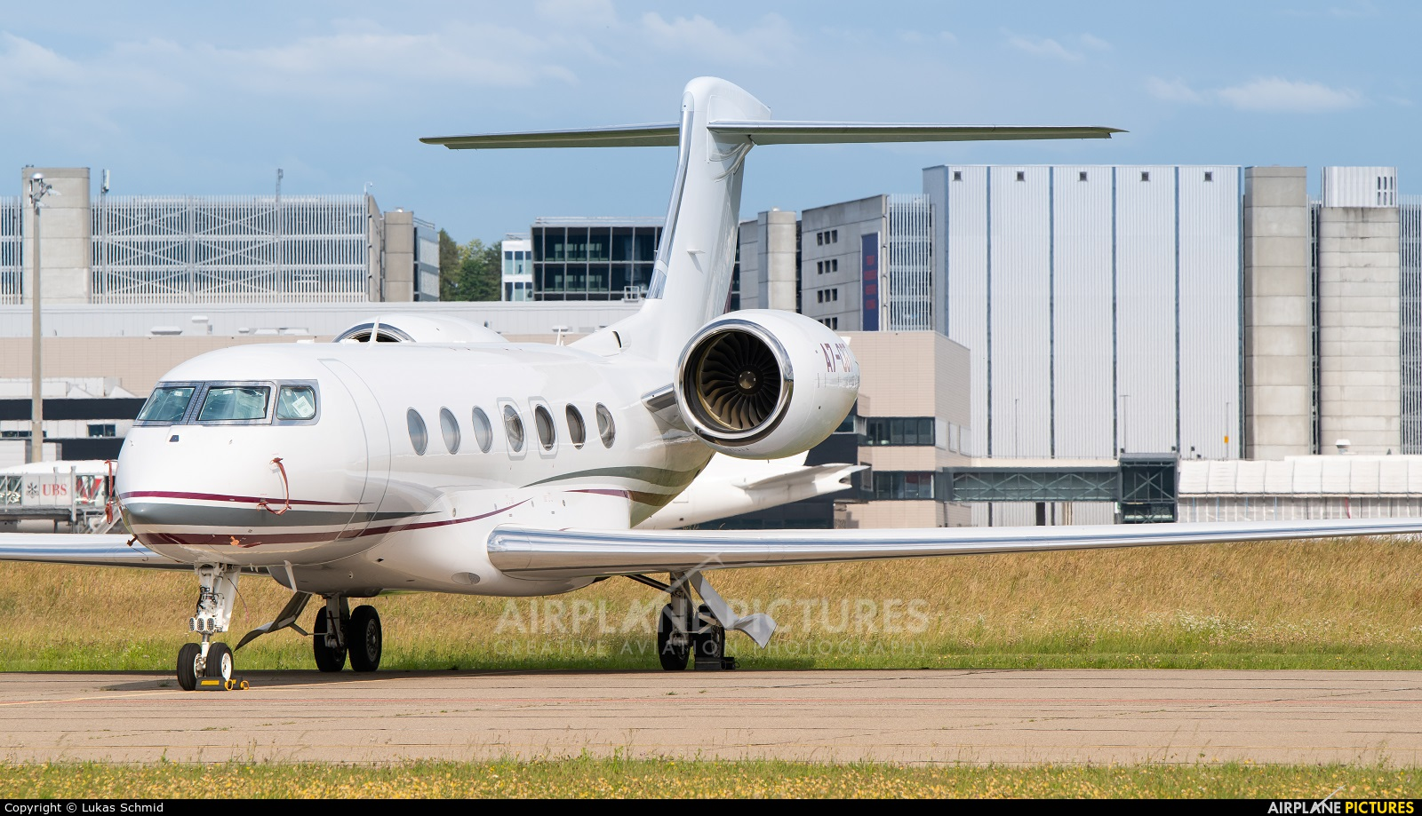 Qatar Executive A7-CGT aircraft at Zurich