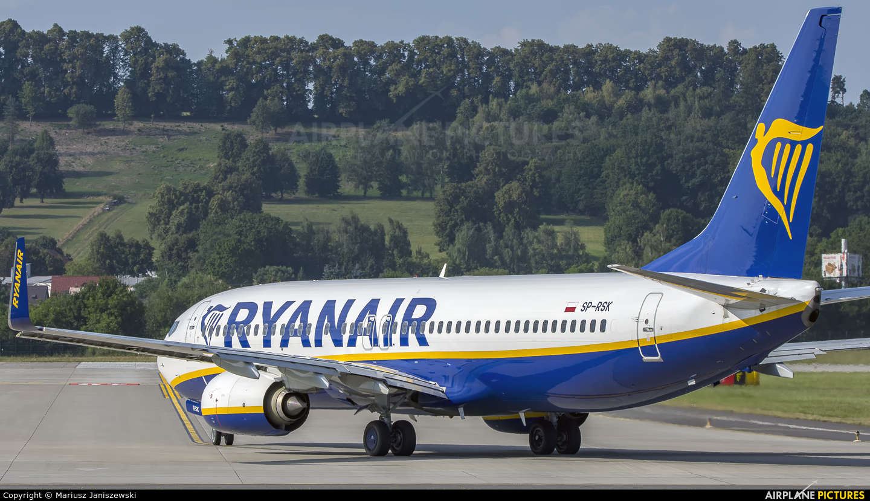 Ryanair Sun SP-RSK aircraft at Kraków - John Paul II Intl