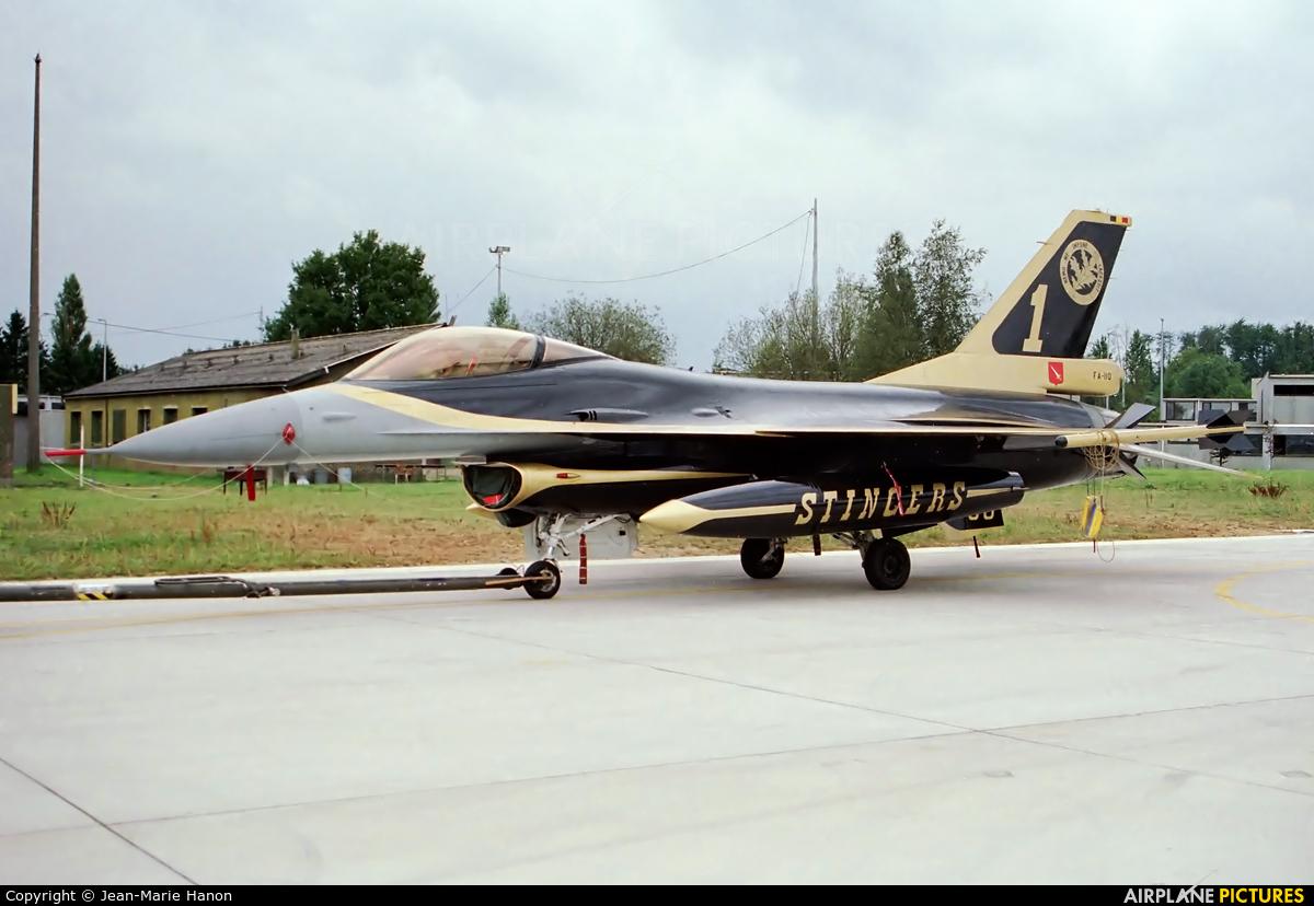 Belgium - Air Force FA-110 aircraft at Florennes
