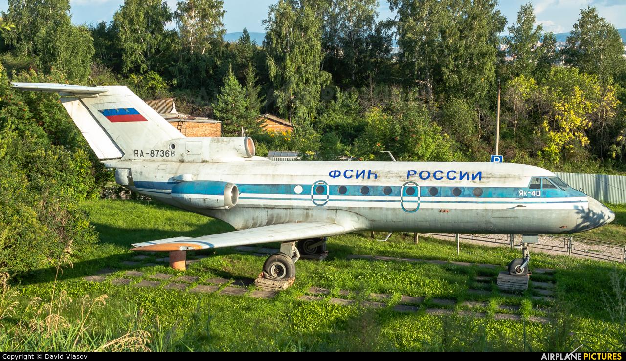 KrasAir RA-87368 aircraft at Undisclosed Location