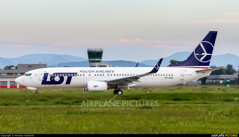 LOT - Polish Airlines SP-LWG aircraft at Ostrava Mošnov