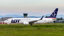 SP-LWG - LOT - Polish Airlines Boeing 737-800 aircraft