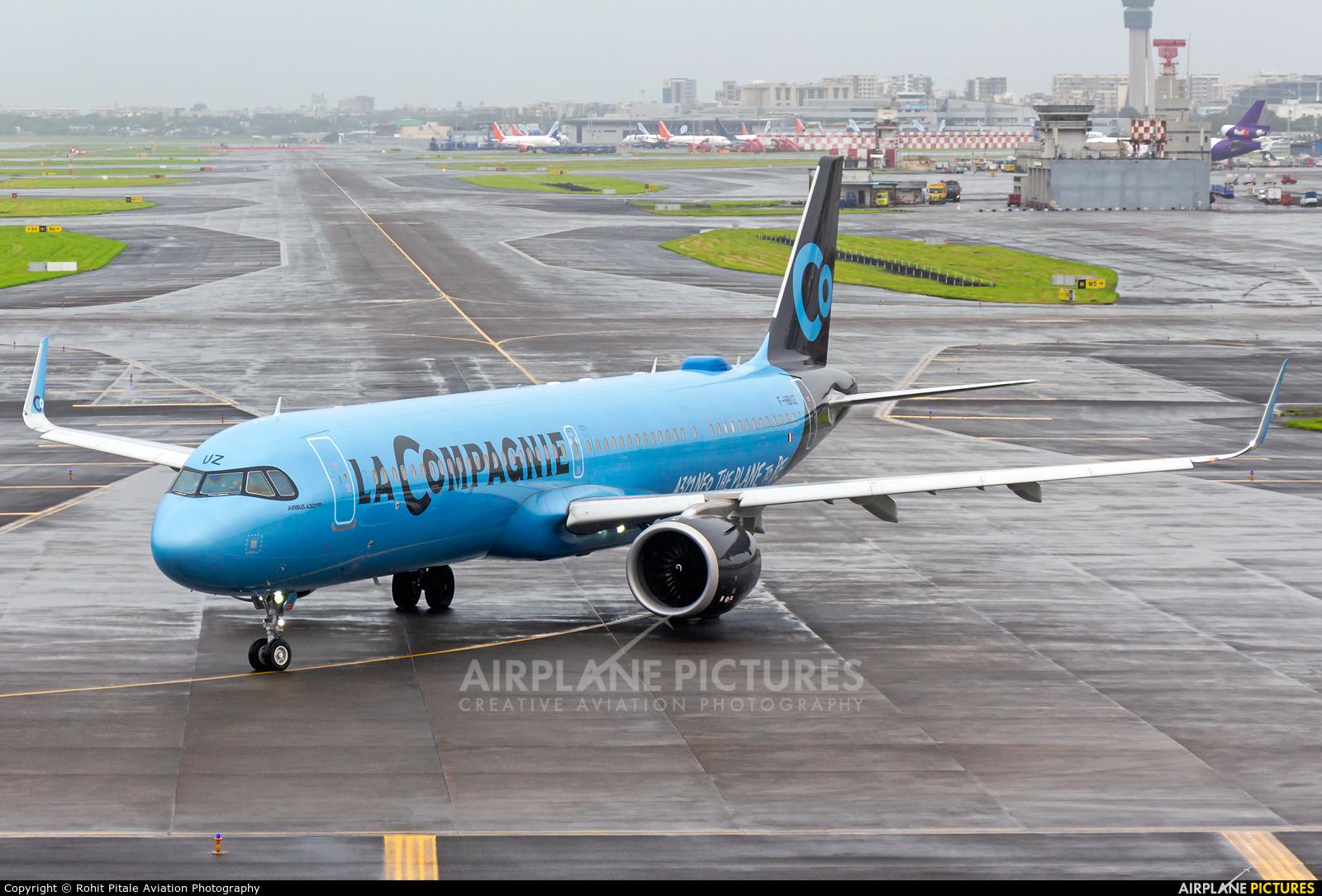 La Compagnie F-HBUZ aircraft at Mumbai - Chhatrapati Shivaji Intl