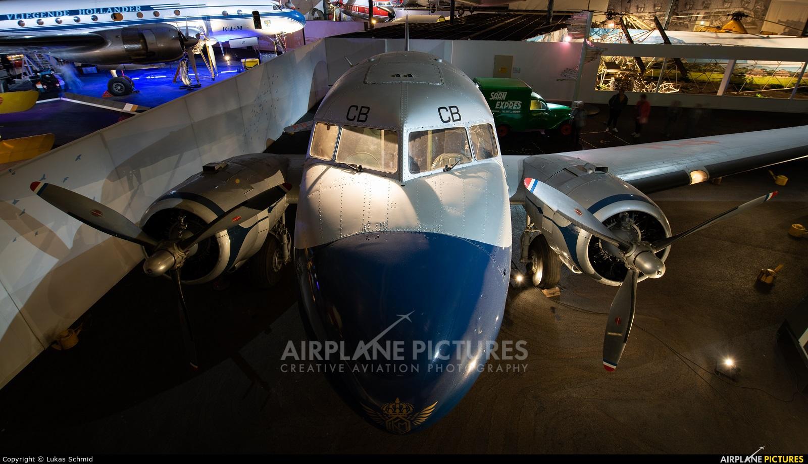 KLM PH-TCB aircraft at Lelystad