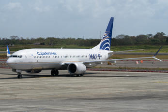 HP-9901CMP - Copa Airlines Boeing 737-9 MAX