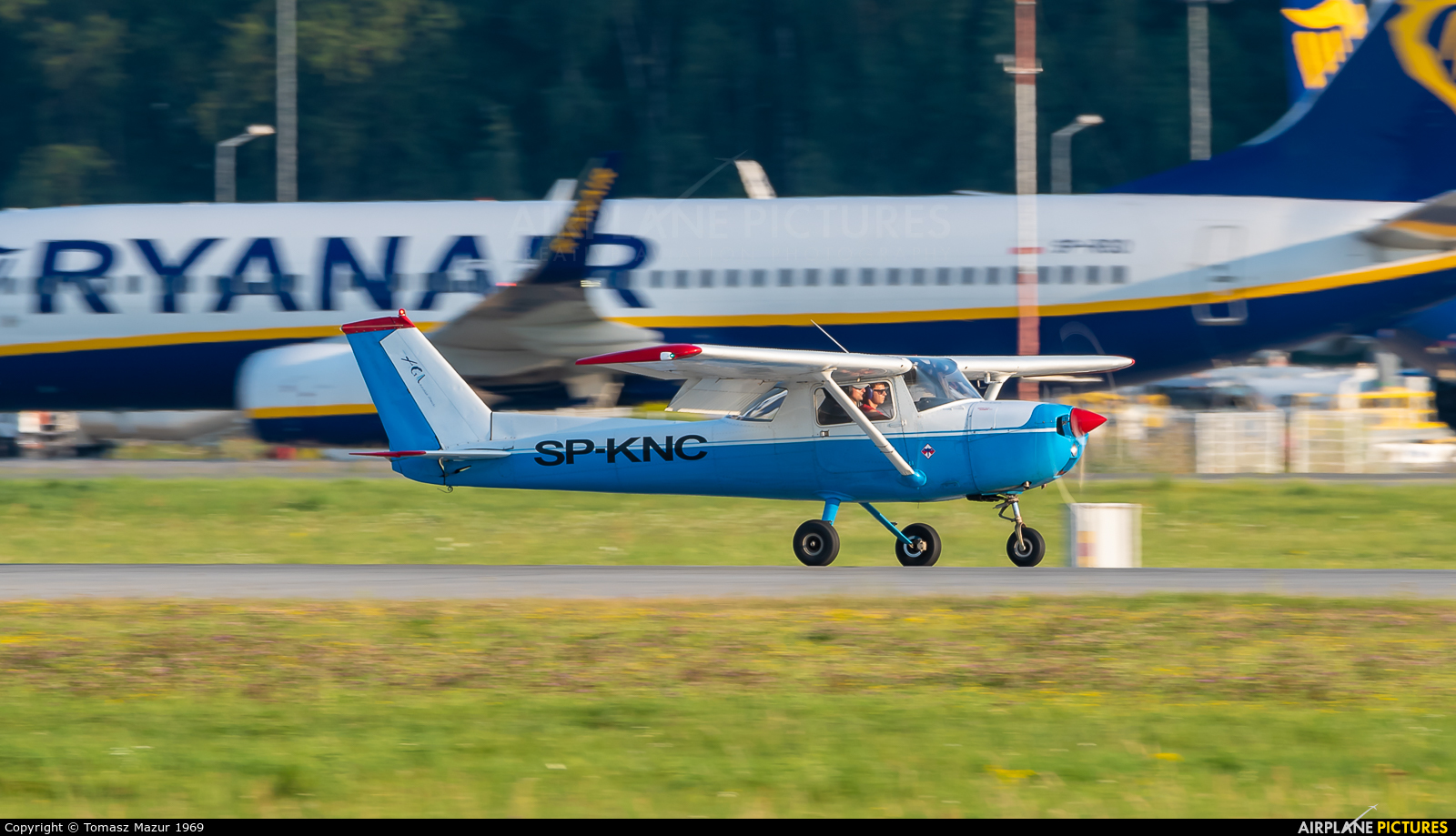 Private SP-KNC aircraft at Katowice - Pyrzowice