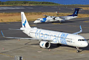 CS-TSH - Azores Airlines Airbus A321 NEO aircraft