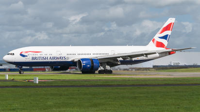 G-ZZZA - British Airways Boeing 777-200