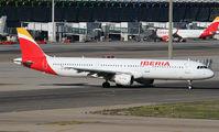 EC-IJN - Iberia Airbus A321 aircraft