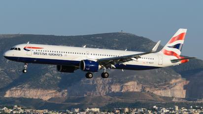 G-NEOY - British Airways Airbus A321 NEO
