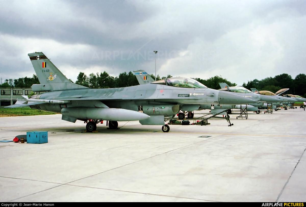 Belgium - Air Force FA-69 aircraft at Florennes