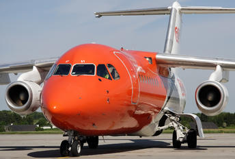 OO-TAY - TNT British Aerospace BAe 146-200/Avro RJ85-QC