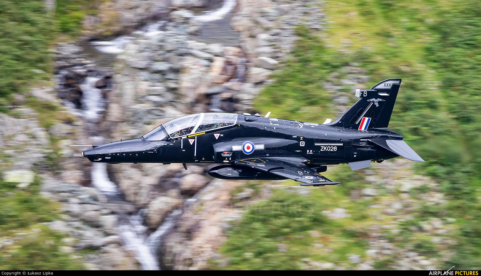 Royal Air Force ZK026 aircraft at Lake District - LFA