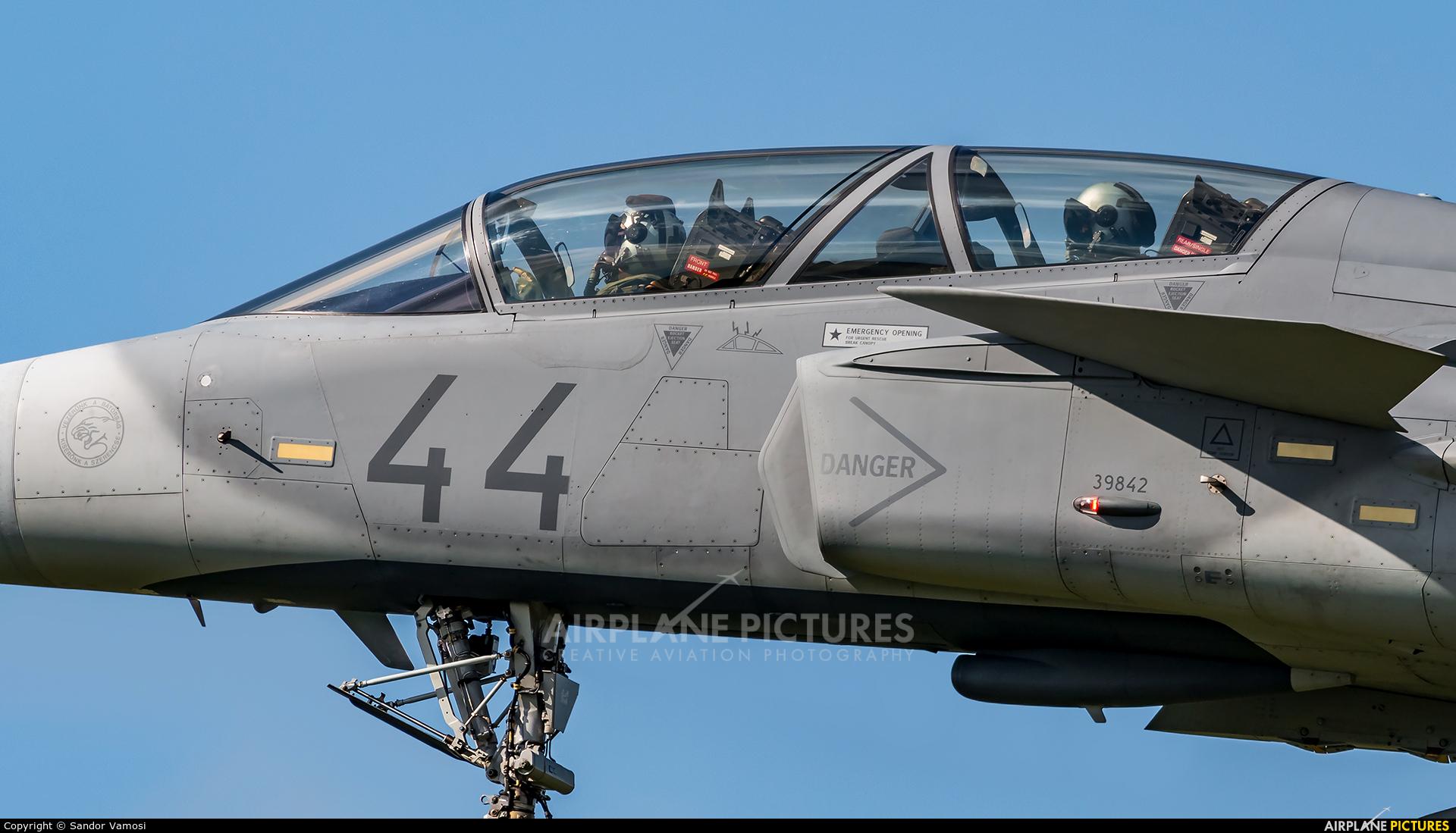 Hungary - Air Force 44 aircraft at Kecskemét