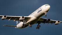 D-AIGP - Lufthansa Airbus A340-300 aircraft