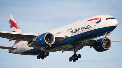 G-VIIA - British Airways Boeing 777-200