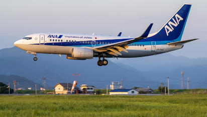 JA17AN - ANA - All Nippon Airways Boeing 737-700