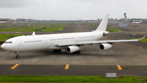 HiFly Airbus A340 visited Mumbai  title=