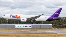 Rare visit of FedEx Boeing 777F to Luxembourg title=