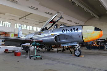DT-884 - Denmark - Air Force Lockheed T-33A Shooting Star
