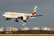 A6-EWJ - Emirates Airlines Boeing 777-200LR aircraft