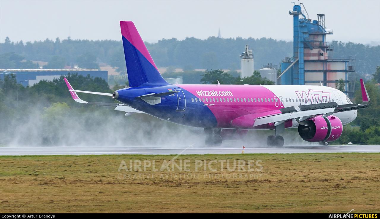 Wizz Air HA-LJA aircraft at Gdańsk - Lech Wałęsa
