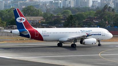 7O-AFB - Yemenia - Yemen Airways Airbus A320