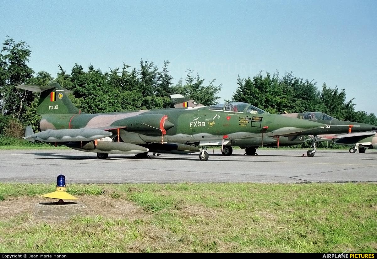 Belgium - Air Force FX39 aircraft at St Truiden/Bruste