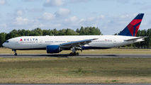 Delta Boeing 777 visited Poznań title=