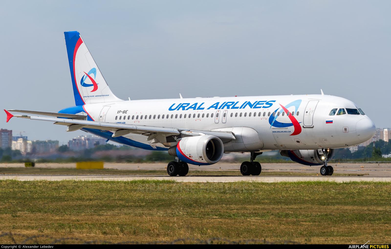 Ural Airlines VP-BIE aircraft at Krasnodar