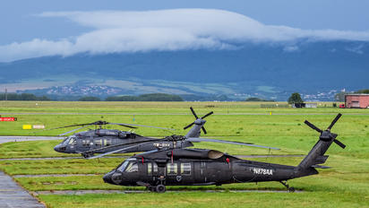N878AA - Slovak Training Academy Sikorsky UH-60A Black Hawk