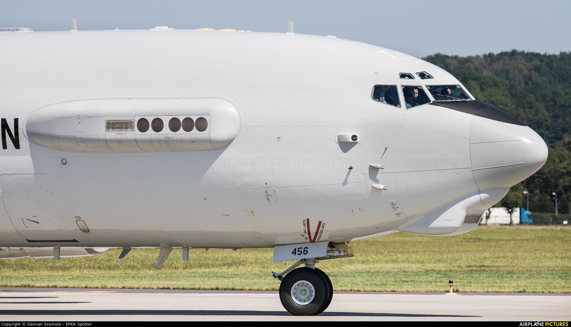NATO LX-N90456 aircraft at Kraków - John Paul II Intl
