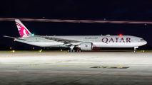 Qatar Boeing 777-300ER visited Warsaw title=