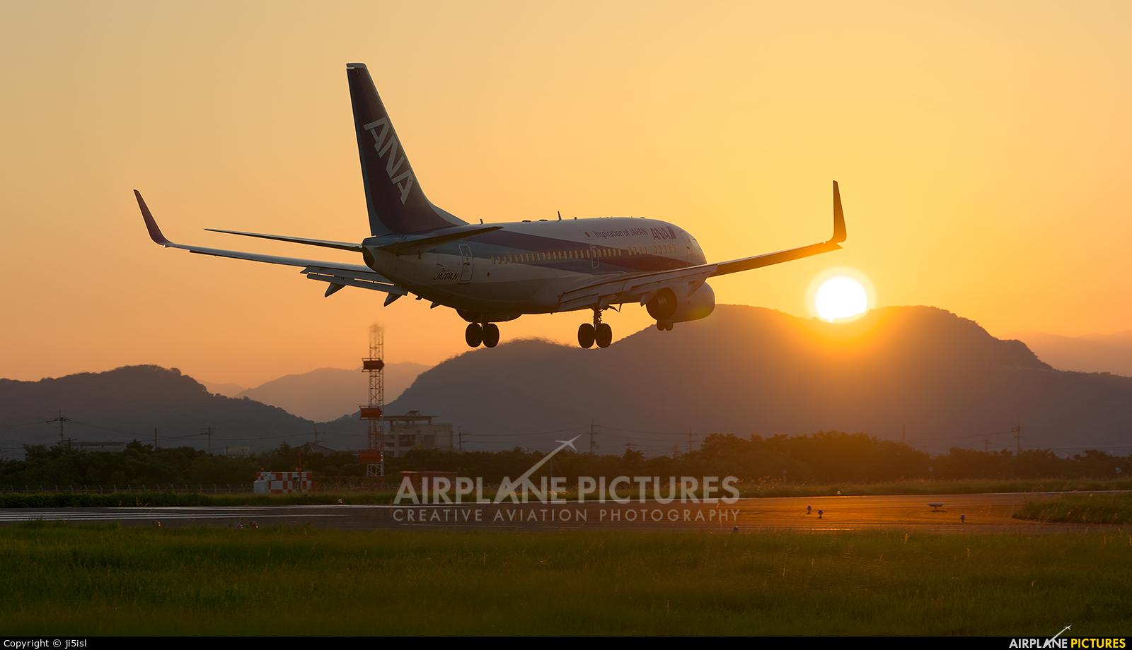 ANA - All Nippon Airways JA18AN aircraft at Kōchi