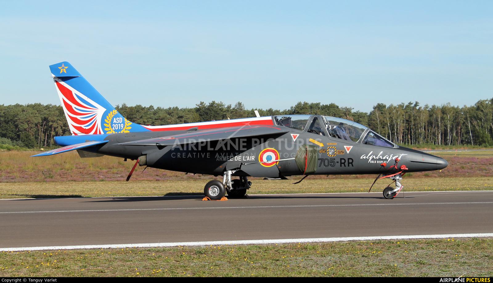 France - Air Force 705-RR aircraft at Kleine Brogel