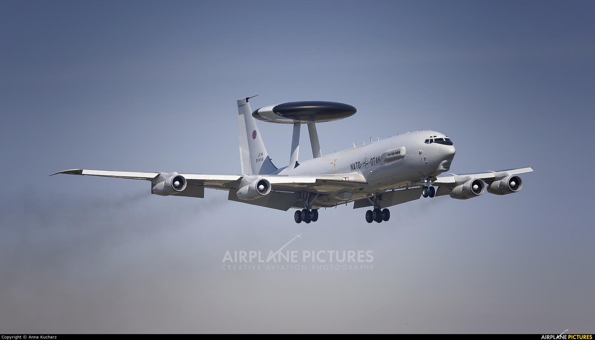 NATO LX-N90456 aircraft at Warsaw - Frederic Chopin
