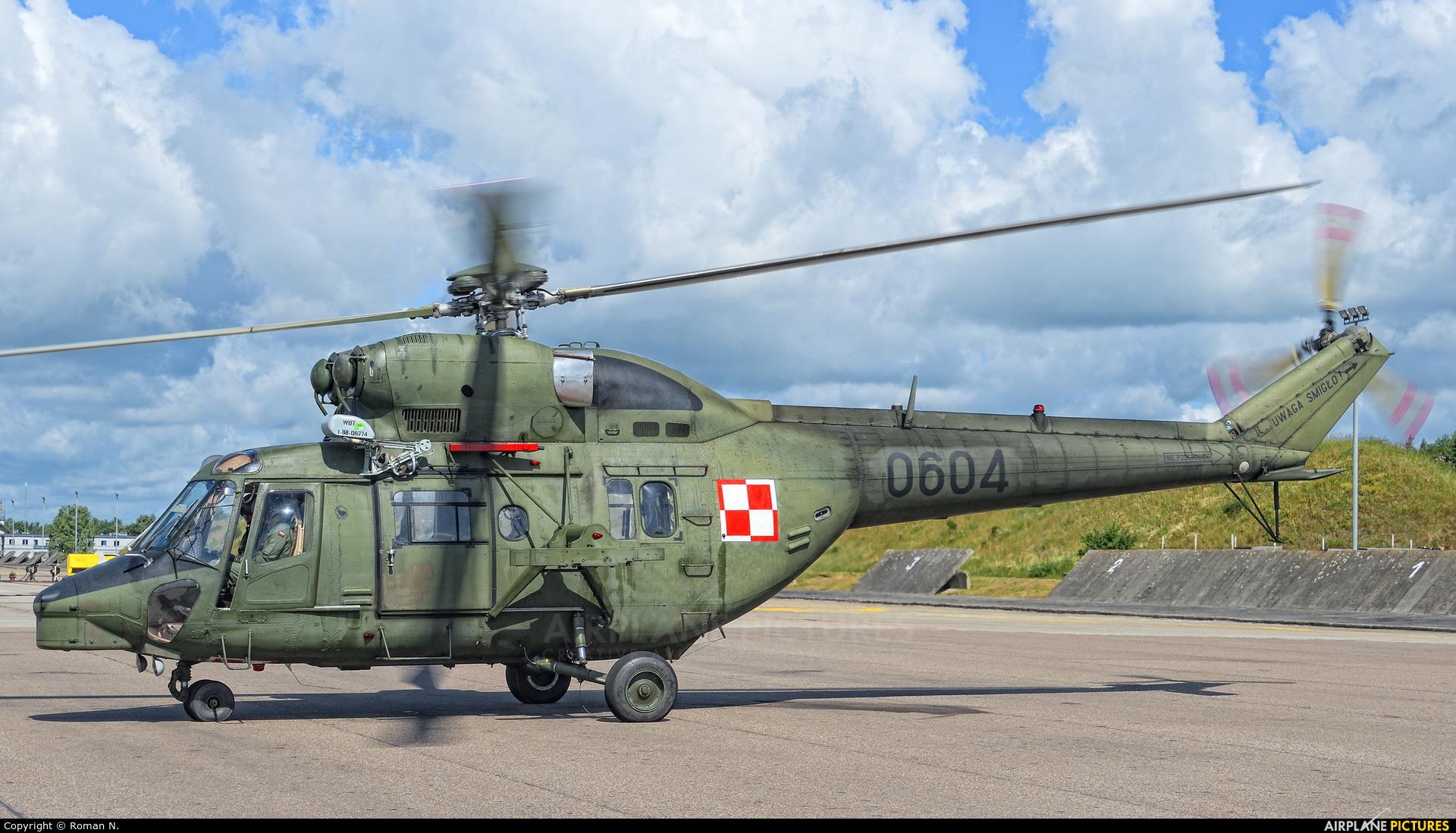 Poland - Army 0604 aircraft at Świdwin