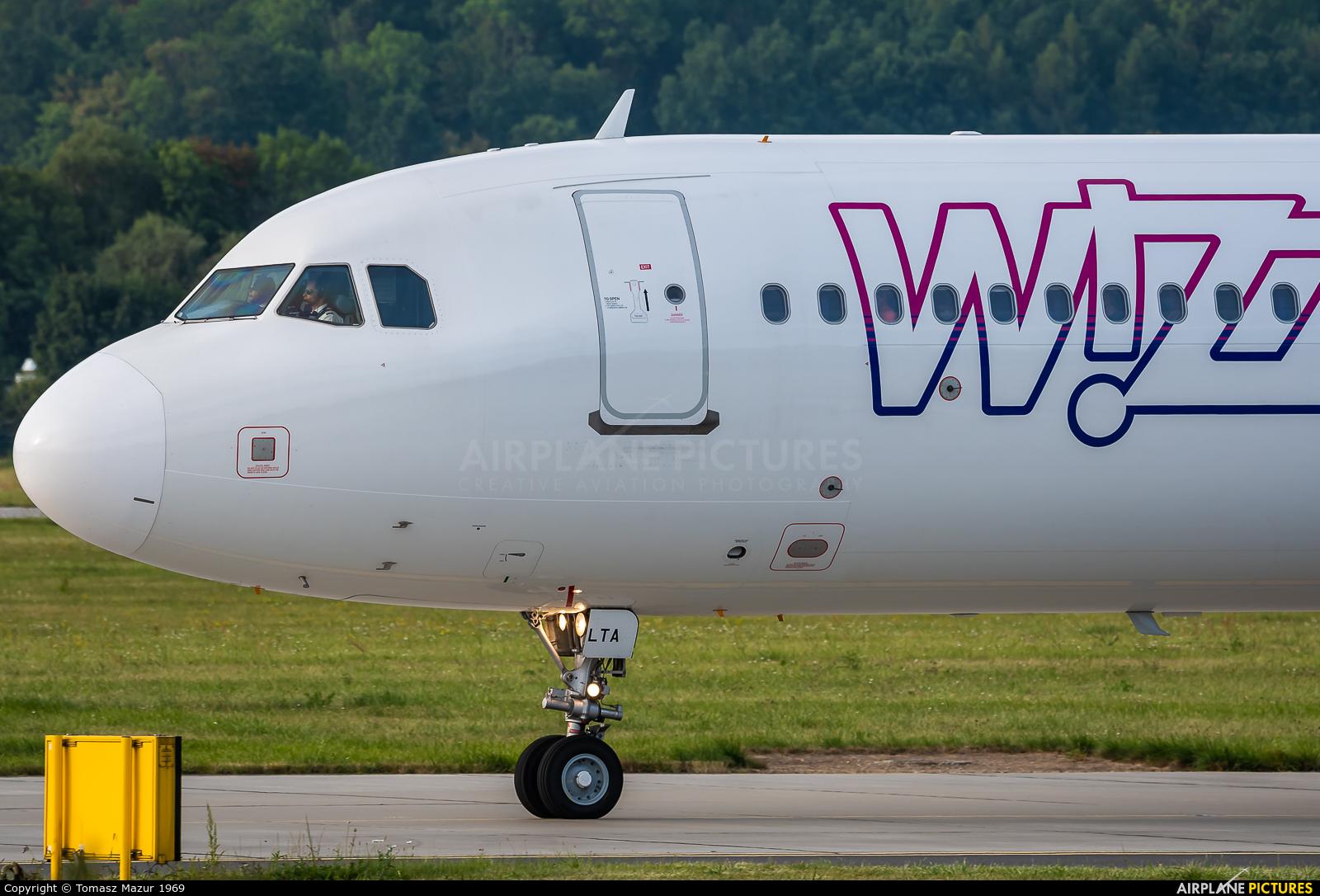 Wizz Air HA-LTA aircraft at Kraków - John Paul II Intl