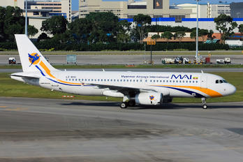 LZ-BHG - Myanmar Airways International Airbus A320