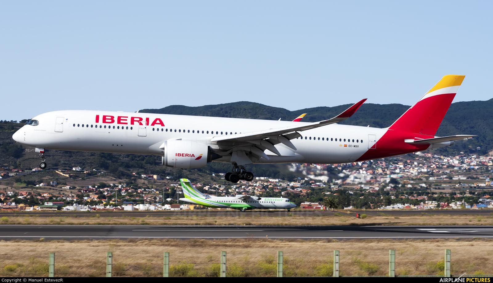 Iberia EC-MXV aircraft at Tenerife Norte - Los Rodeos