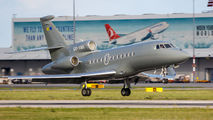 OO-VMV - Flying Service Dassault Falcon 900 series aircraft