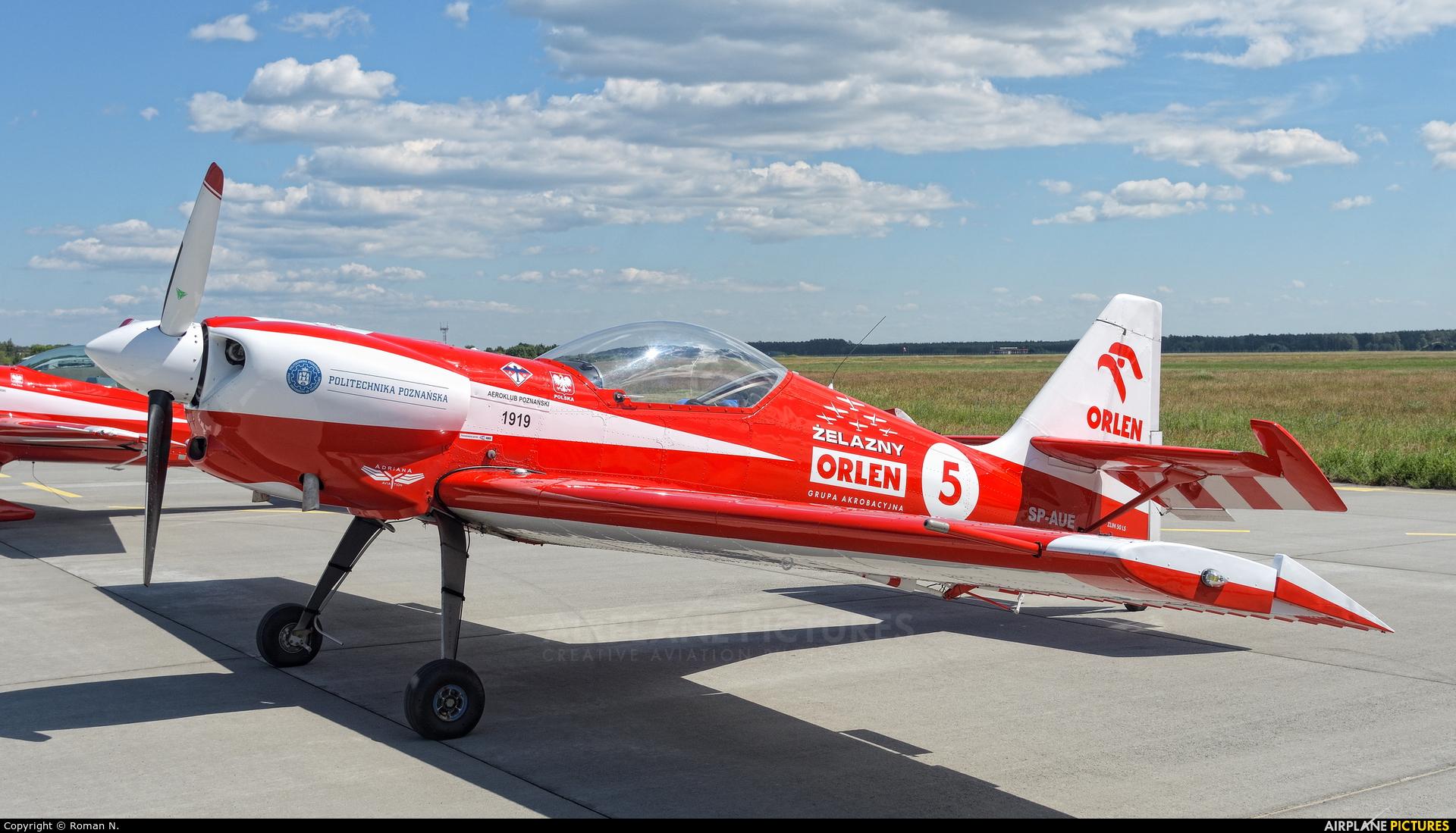 Grupa Akrobacyjna Żelazny - Acrobatic Group SP-AUE aircraft at Bydgoszcz - Szwederowo