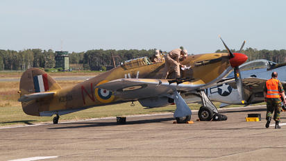 OO-HUR - Private Hawker Hurricane Mk.IV