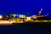 Icelandair Boeing 757 visited Ljubljana title=