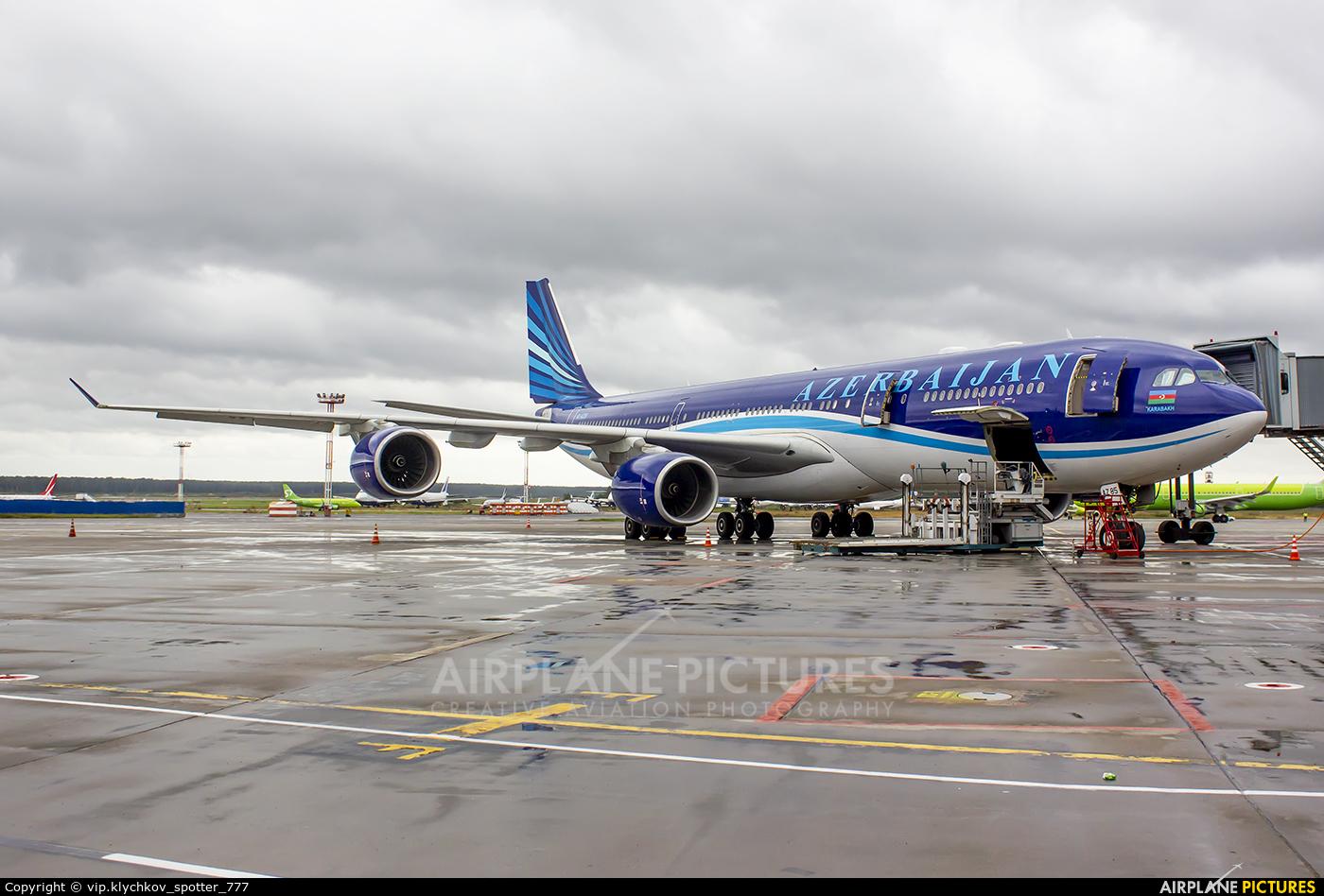 Azerbaijan Airlines 4K-AZ85 aircraft at Moscow - Domodedovo