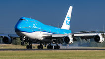 PH-BFN - KLM Boeing 747-400 aircraft