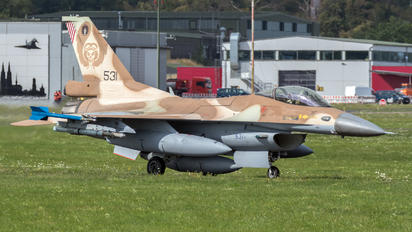 531 - Israel - Defence Force Lockheed Martin F-16C Fighting Falcon